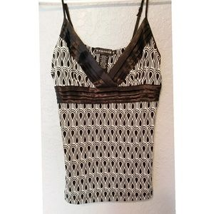 Black and Gray Rampage top